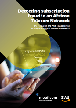 Case Study - Detecting Subscription fraud in an African Telecom Network