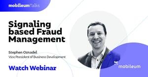 MobileumTalks_Signaling based Fraud Management